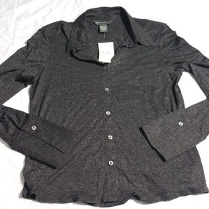 BANANA REPUBLIC Rayon/Silk Button Up Top